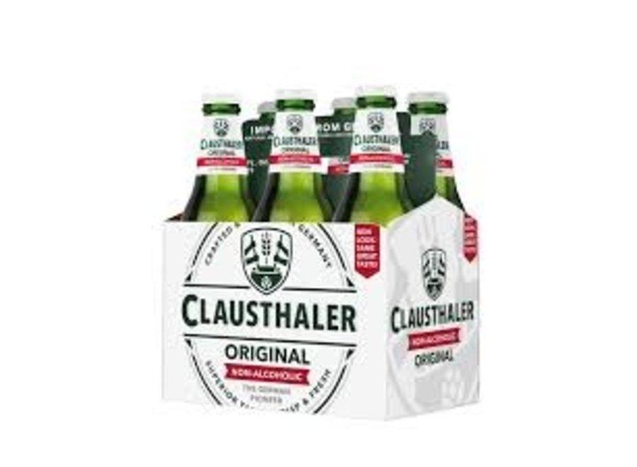 CLAUSTHALER ORIGINAL NON-ALCOHOLIC 6PK 12OZ BOTTLE