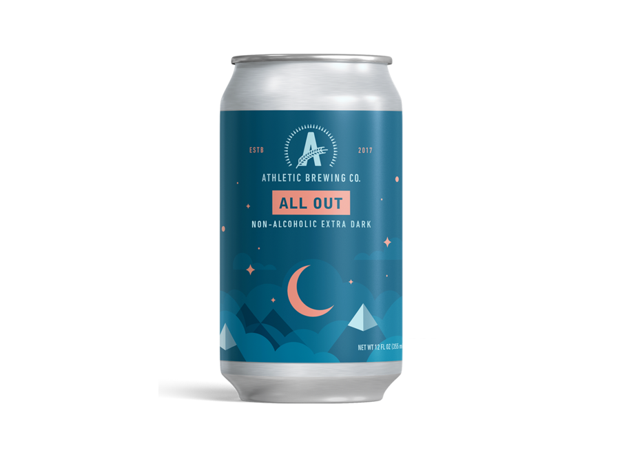 ATHLETIC BREWING ALL OUT NON-ALCOHOLIC STOUT 6PK/12OZ CAN