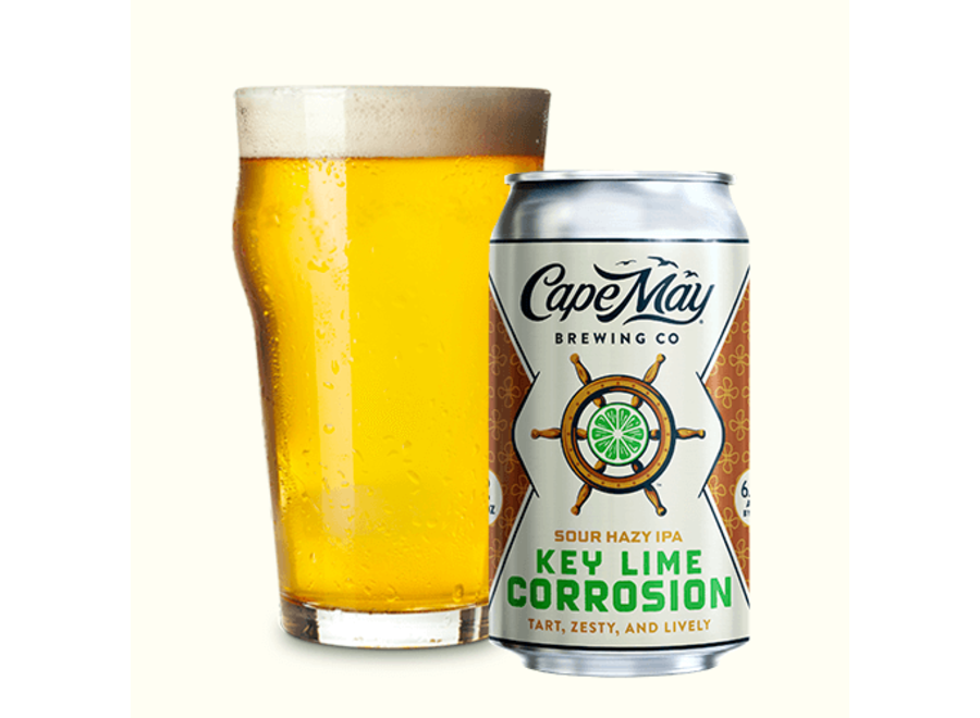CAPE MAY KEY LIME CORROSION SOUR HAZY IPA 6PK CAN