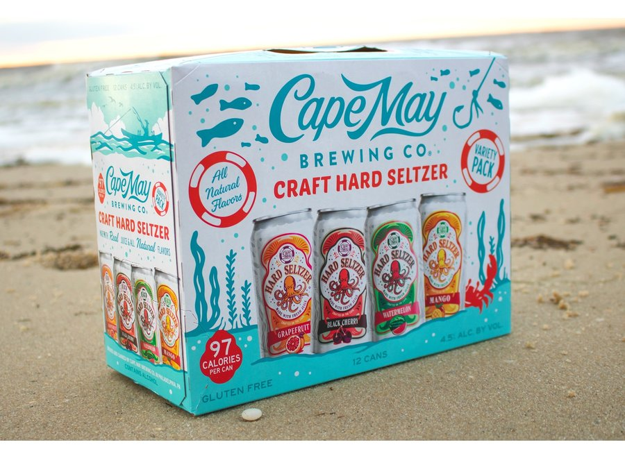 CAPE MAY CRAFT HARD SELTZER 12PK/12OZ CAN