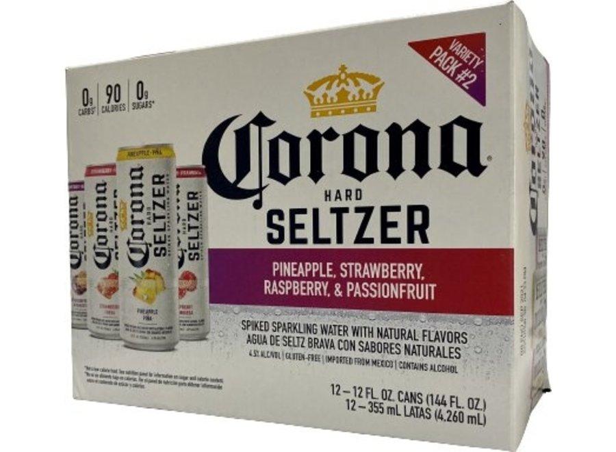 CORONA HARD SELTZER #2 VARIETY 12PK/12OZ CAN