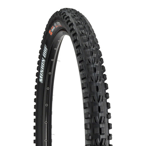 Maxxis Maxxis Minion DHF Tire 29 x 2.30, Folding, 60tpi, Dual Compound, EXO, Tubeless Ready, Black