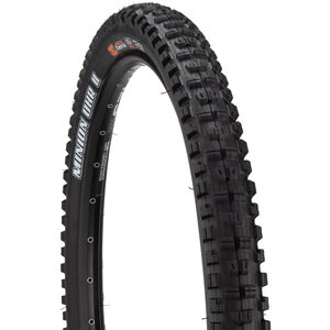 "Maxxis Maxxis Minion DHR II Tire: 26 x 2.30"", Folding, 60tpi, Dual Compound, EXO, Tubeless Ready, Black"