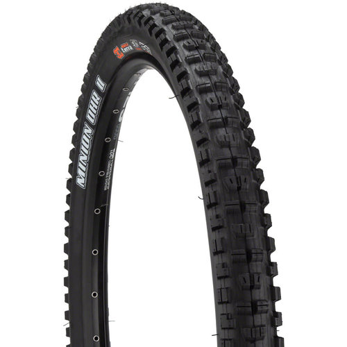 Maxxis Maxxis Minion DHR II Tire 27.5 x 2.60, Folding, 120tpi, 3C MaxxTerra, EXO, Tubeless Ready, Black