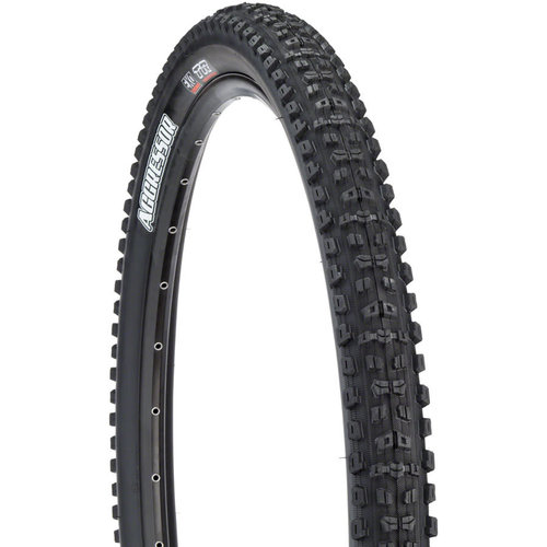 Maxxis Maxxis Aggressor Tire - 27.5 x 2.5, Tubeless, Folding, Black, Dual, EXO, Wide Trail