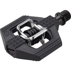 "Crank Brothers Crank Brothers Candy 1 Pedals - Dual Sided Clipless, Composite, 9/16"", Black"