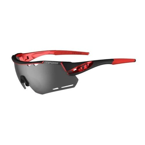 Tifosi Optics Alliant, Black/Red Interchangeable Lenses