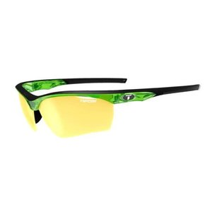 Tifosi Optics Vero, Crystal Neon Green Interchangeable Sunglasses Clarion Yellow/AC Red/Clear