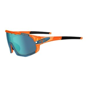 Tifosi Optics Sledge, Crystal Orange Interchangeable Sunglasses Clarion Blue/AC Red/Clear