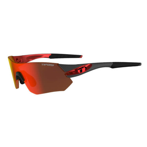 Tifosi Optics Tsali, Gunmetal/Red Interchangeable Lenses