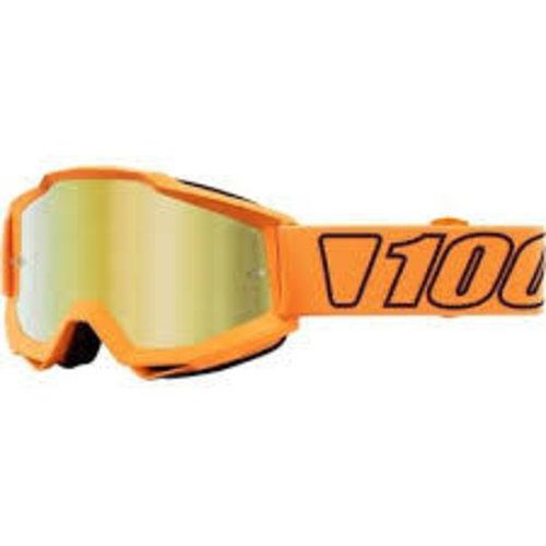 100 Percent Accuri Goggles Luminari Mirror Gold Lens