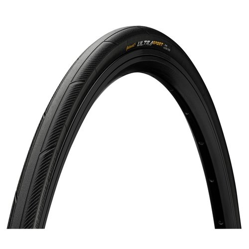 Continental Continental Ultra Sport III Tire - 27 x 1.25, Clincher, Wire, Black