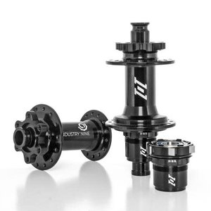 Industry Nine 1/1 Classic Hubset 6 Bolt Boost 32h Black