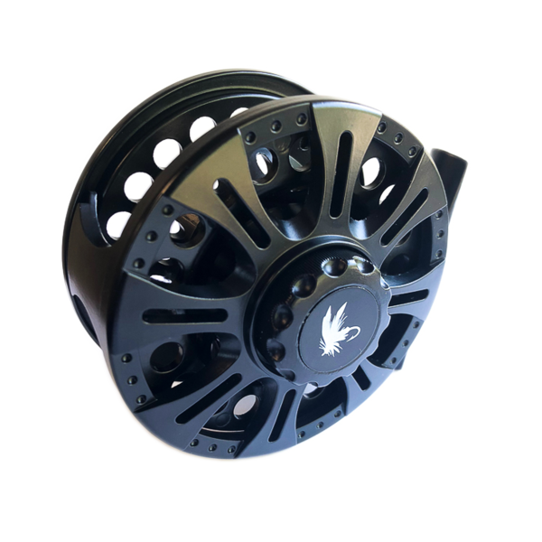 Maxxon - XG Reel - 5/6 WT, Graphite Reel, Lrg V-Arbor, BLACK