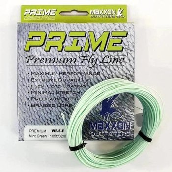 MAXXON Outfitters Prime Premium Weight Forward Floating Fly Line 5 WT