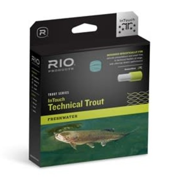 RIO INTOUCH - TECHNICAL TROUT WF5F  Blue/Peach/Ivory