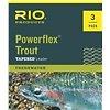 RIO RIO POWERFLEX LEADER 9FT SERIES 3-PACK 3X/4X/5X