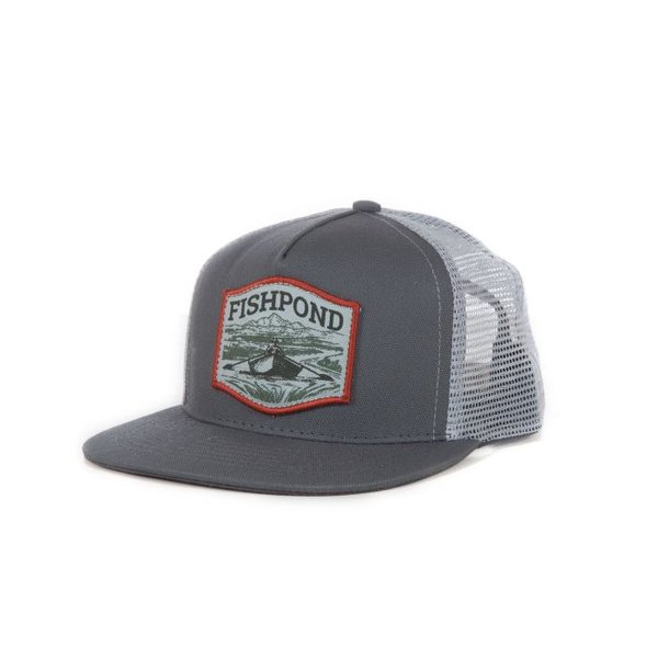 Fishpond Fishpond Drifter Hat- Low Profile- Granite/Clouds