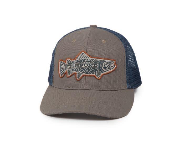 Fishpond Fishpond Maori Trout Hat- Sandstone/Slate