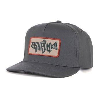 Fishpond Pescado Hat- Full Back- Granite