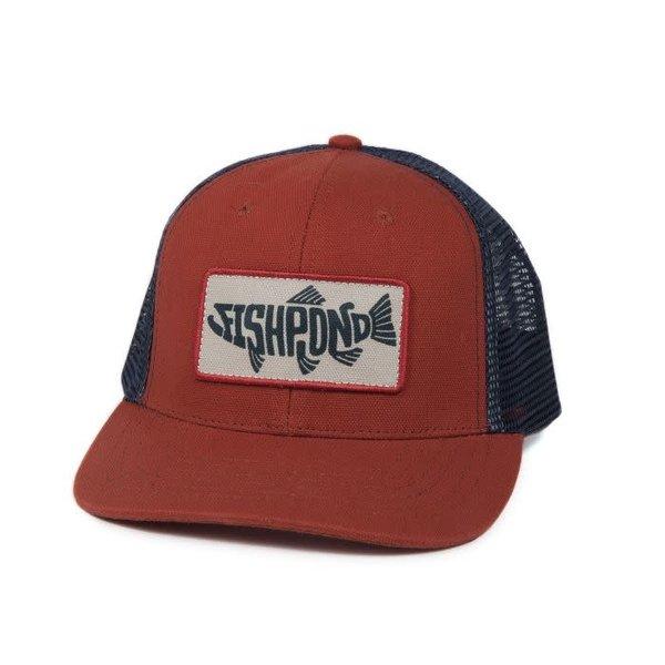 Fishpond Pescado Hat- Low Profile-Redrock/Slate