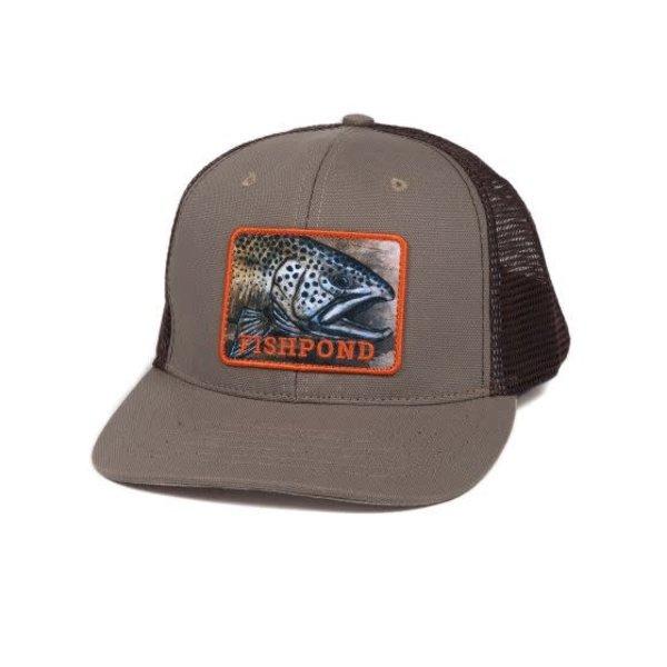 Fishpond Fishpond Slab Trucker Hat- Sandstone/Brown
