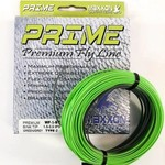 Prime Prime Premium Fly Line - Weight Forward Sink Tip Green/Gray