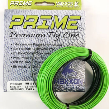 Prime Prime Premium Sink Tip weight forward 6 Sink Tip Green/Gray