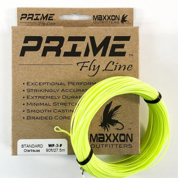 Prime Standard Fly Line 6 Weight Forward Floating Charteuse