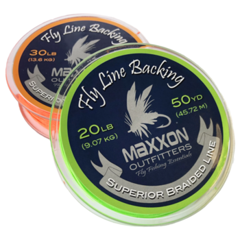MAXXON Outfitters Maxxon Fly Line Backing -20 LB 50 Yards Lime Green