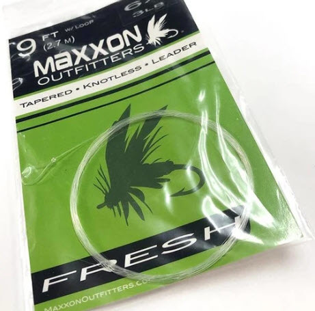 MAXXON Outfitters Maxxon Tapered knotless leader - 9' - 5X