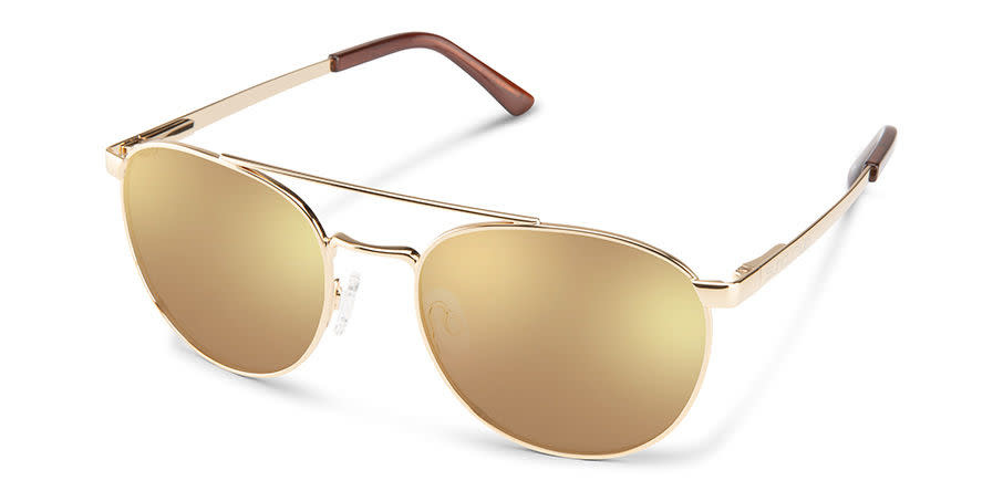 Suncloud Optics SUNCLOUD  MOTORIST GOLD POLARIZED SIENNA MIRROR
