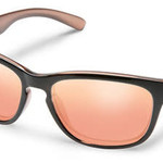 Suncloud Optics SUNCLOUD  CINCO ROSE BACKPAINT POLARIZED PINK GOLD MIRROR
