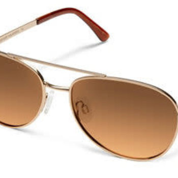 Suncloud Optics SUNCLOUD  CALLSIGN ROSE GOLD POLARIZED BROWN GRADIENT