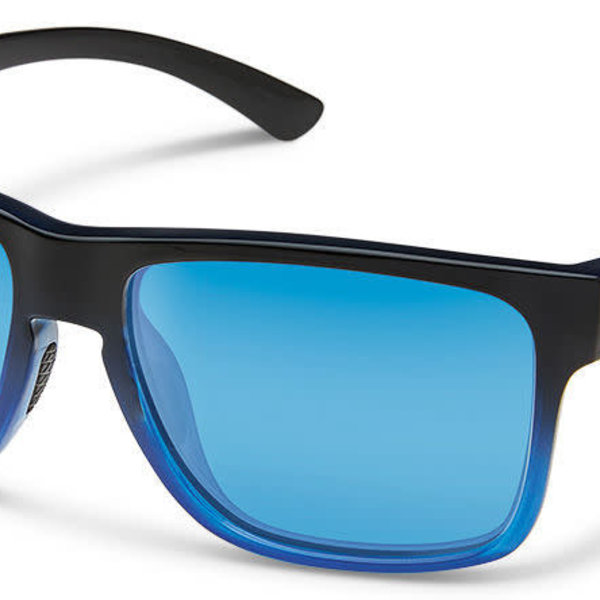 Suncloud Optics SUNCLOUD  RAMBLER BLACK BLUE POLARIZED BLUE MIRROR