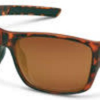 Suncloud Optics Matte Tortoise Frame - Polarized Brown