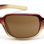 Suncloud Optics SUNCLOUD  COOKIE BROWN FADE LASER POLARIZED BROWN