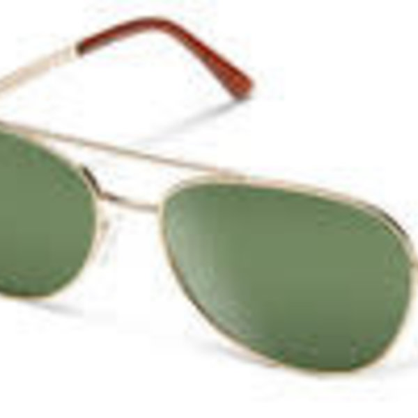 Suncloud Optics SUNCLOUD  CALLSIGN GOLD POLARIZED GRAY GREEN