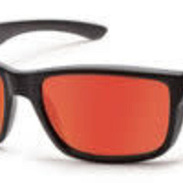 Suncloud Optics SUNCLOUD  MAYOR MATTE BLACK POLARIZED RED MIRROR