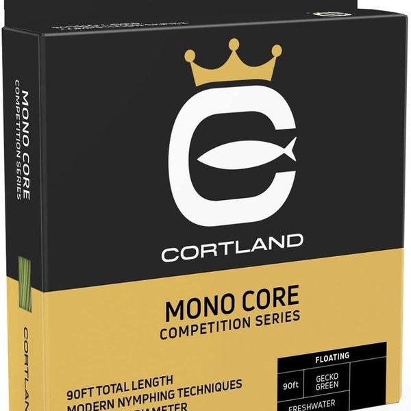 Cortland CORTLAND COMPETITION BRAID CORE (LEVEL) .022 LEVEL GECKO  GREEN 90'