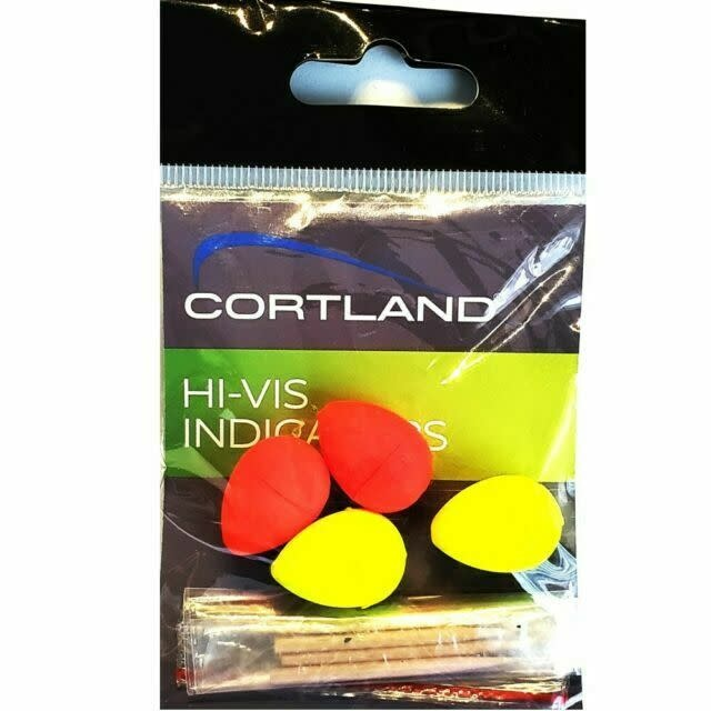 Cortland CORTLAND STRIKE INDICATOR VALUE PACK OF 8