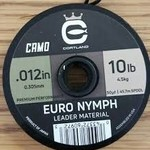 Cortland Euro Nymph Leader Camo Nylon  -  10LB