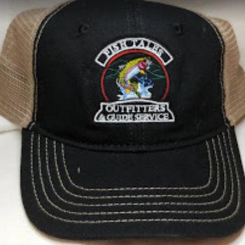 Logo Up Fish Tales Baseball Style Hat Trout black/Medium brown mesh