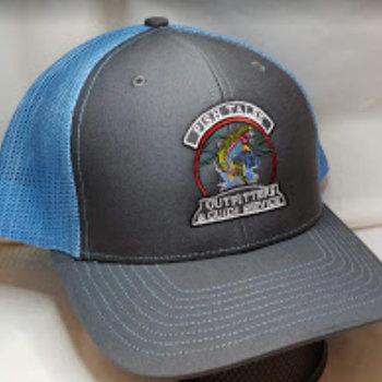 Logo Up Fish Tales Baseball Hat - Blue