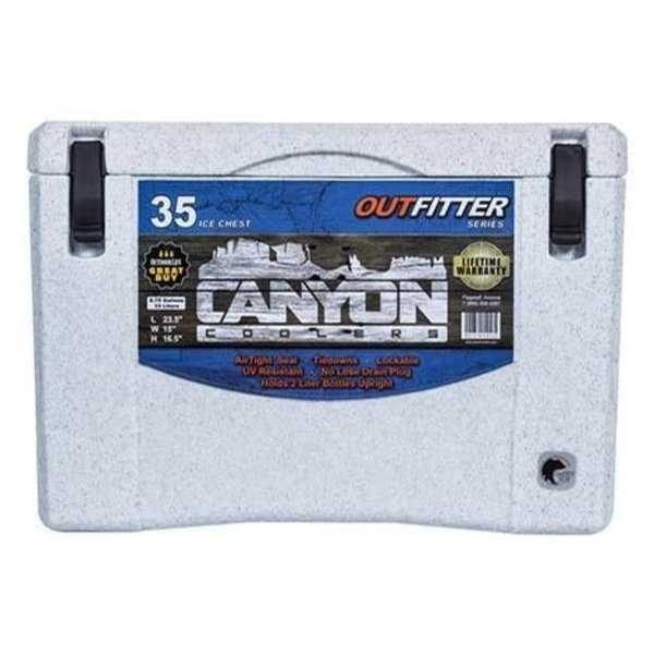 Canyon Coolers Outfitter 35 White Marble