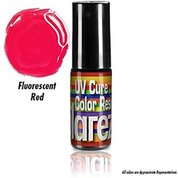 Solarez SOLAREZ Fly Tie COLOR 5 gram bottle w/ brush tip - Fluoro Red