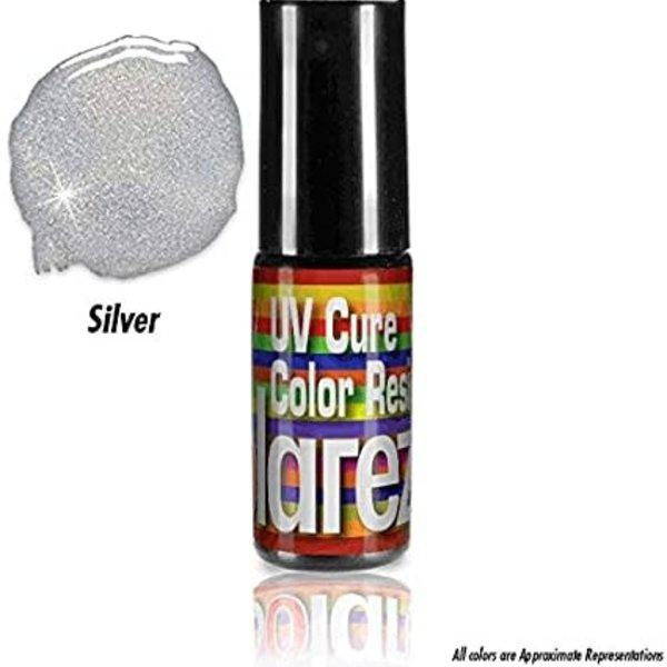 Solarez SOLAREZ Fly Tie COLOR 5 gram bottle w/ brush tip - Silver