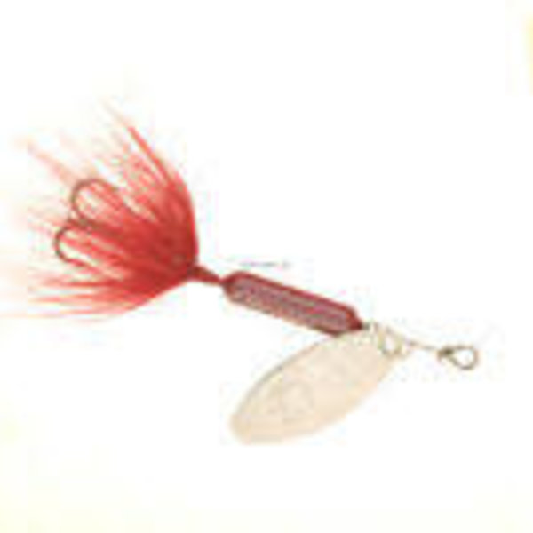 """Wordens Wordens 208-ORCL Rooster Tail In-Line Spinner, 2 1/4"""", 1/8 oz Orange Clown"""