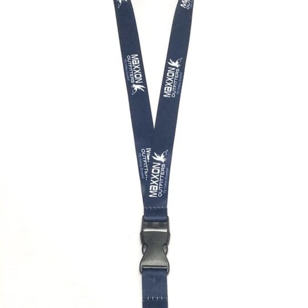 "MAXXON Outfitters Maxxon Outfitters 21"" Blue Polyester Lanyard"
