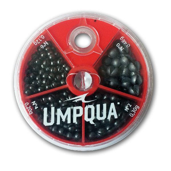 UMPQUA 4-WAY SPLIT SHOT ASST